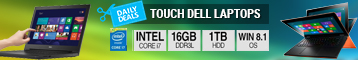 Touch Dell Laptops